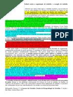 TEXTO DISCUSSÃO - Os mecanismos de defesa individual contra a organização do trabalho.docx