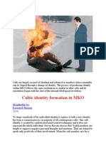 Cultic Identity Formation in MKO