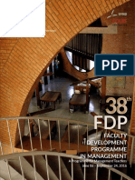38th FDP Brochure