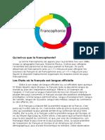 Francofonie Franceza 1