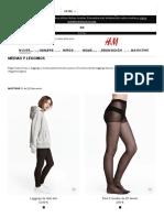 Medias y Leggings Para Mujer - Compra Online _ H&M ES