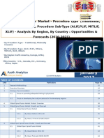 Global Spinal Fusion Market - Analysis By Region, By Country (2016-2021) - Azoth Analytics