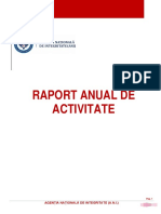 Raport Activitate Anual ANI 2016