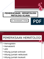 Ppt Kuliah Pemeriksaan Hematologi