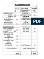 Contract account format