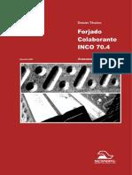 Dossier Tecnico Del Forjado Colaborante INCO 70 4
