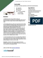 Chocolade-kardemomcake - Recept - Allerhande - Albert Heijn