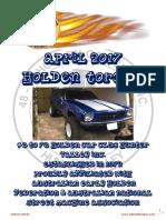 April 2017 Holden Torque