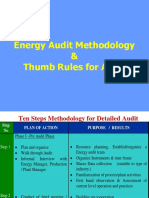 3.5 Energy Audit Methodology and Thumb Rules