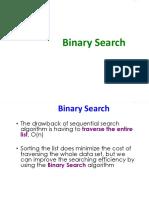 6. SearchBinary