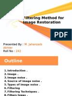 Various Filtering Methods