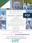 Wellness Concierge (Wellness & Spa)