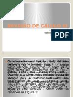 Aula 1 - Revisão de Cálulo II