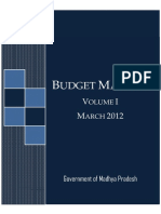 Budget Manual Vol I [Eng]