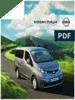 Ebrochure Nissan NV200 Evalia NL