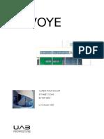 Model Coperta Proiect Arhitectura