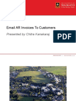 Email Ar Invoices to Customers