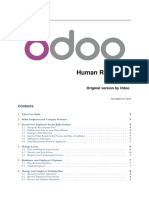 Odoo - Human Resources