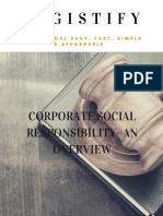 Corporate Social Responsibility An Overview - Legistify