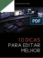 e-book 10 Dicas para editar vídeos melhor.pdf