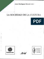 Rodriguez Morato Arturo_La Sociedad de La Cultura
