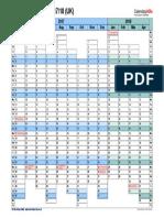 Financial Calendar 2017 2018 Landscape Days Aligned