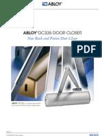 Abloy DC335 Door Closer
