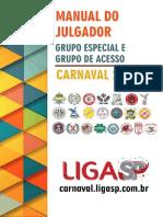Manual Julgador Carnaval 2017 SP