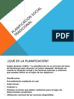 Planificación Social Tradicional (Normativa)