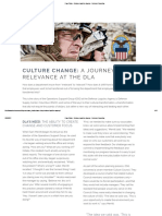 Case Study - Defense Logistics Agency - Denison Cultura
