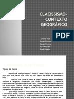 clacissismo geografia