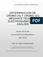 Determinacion de Cromo Mediantes Tecnicas Electroquimicas