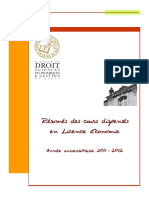 Licence Economie Resumessemestre 11-12