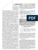 Norma que Modifica el Reglamento para la Atención de Reclamos de Usuarios de Servicios Públicos de Telecomunicaciones