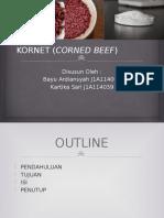Kornet (Corned Beef)