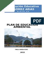 Plan de Trabajo Del Comite Ambiental Elvira