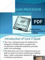 Core 2 Quad Processor Technology