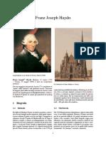 13-Franz Joseph Haydn- Italiano Bio