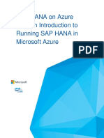 SAP HANA on Azure 101 - May2016 - Final