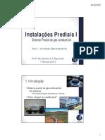 Instalações Prediais I (Aula 1 - Introdução Gás Combustível)