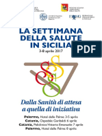 Settimana Salute Sicilia