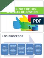 Visión 2015 de Los Sistemas de Gestión