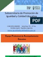 JORNADA DE ELABORACIÓN Acuerdos Escolares de Convivencia