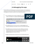 Chapter 3. Crating the Points of Interest App - M - Running and Debugging the App