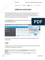 Chapter 3. Creating the Points of Interest App - D - Installing Platforms and Tools