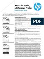 HP PageWide Pro 477-577 Printer Series