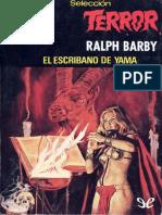 Barby Ralph - Seleccion Terror 405 - El Escribano de Yama