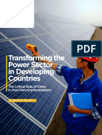 Transforming the Power Sector in Developing Countries