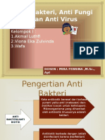 Anti Bakteri, Anti Fungi Dan Anti Virus
