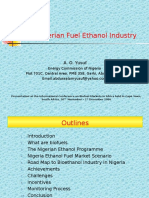 Biofuel Industry in Nigeria